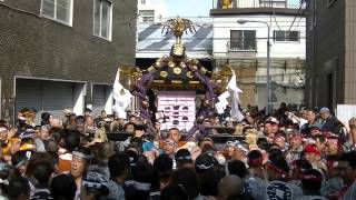 getlinkyoutube.com-平成27年<三社祭>【怒闘】一之宮東部渡御=浅五会~浅草象三