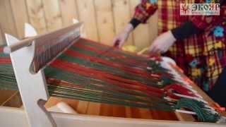 getlinkyoutube.com-МАСТЕР-КЛАСС: Ткачество на ручном ткацком станке ОПТИМА-МИНИ /ЭКОЯР/