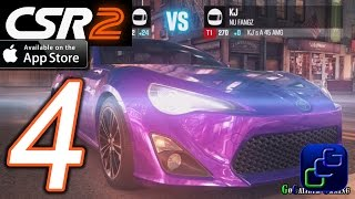 getlinkyoutube.com-CSR Racing 2 iOS Walkthrough - Part 4 - T1 Crew Battle, Ladder