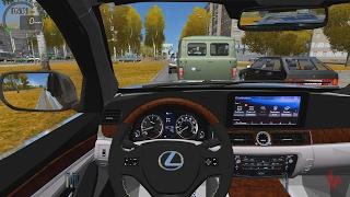 getlinkyoutube.com-City Car Driving - Lexus LX570   City Drive