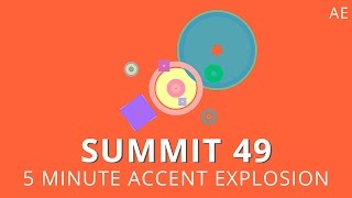 Summit 49 - 5 Minute Accent Explosions - After Effects