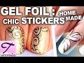 Le Gel Foil : dorures exceptionnelles pour des ongles très chic ♥