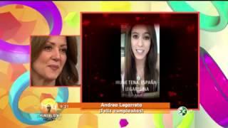 getlinkyoutube.com-Sorpresa para Andrea Legarreta en el programa HOY.