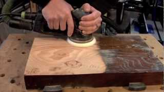 getlinkyoutube.com-Festool Rotex 125, sanding from rough to a polish finish...