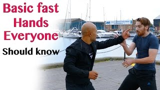 getlinkyoutube.com-Basic fast hands everyone should know | wing chun