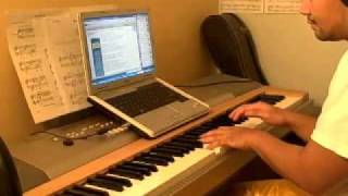 getlinkyoutube.com-Sesame Street - I Don't Want to Live on the Moon (Piano Cover/Rendition)