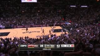 getlinkyoutube.com-Manu Ginobili 19 points vs Miami Heat   game 5   2014 NBA finals