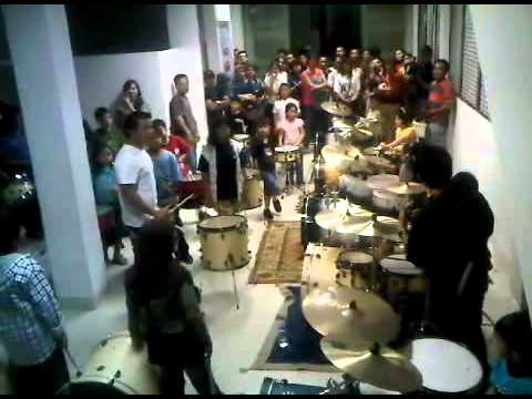 Latihan Ultah SCTV - with Posan Kotak 230810