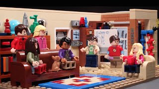 getlinkyoutube.com-The Big Bang Theory - LEGO Build Zone - Season 2 Episode 18