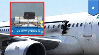 getlinkyoutube.com-Somalia plane explosion: Suicide bomber smuggled explosives on board in a wheelchair - TomoNews