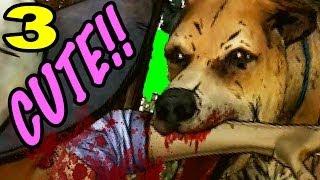 getlinkyoutube.com-Puppy Love MURDER!! - The Walking Dead Game Season 2
