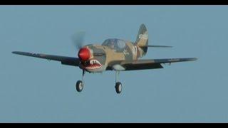 getlinkyoutube.com-TEST FLIGHT GIANT SCALE TOP-FLITE RC P-40 TOMAHAWK - LEE - 2015