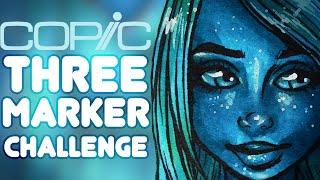 getlinkyoutube.com-COPIC 3 Marker Challenge - Alien Spa