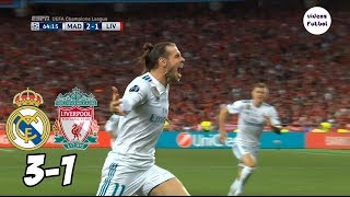 Real Madrid vs Liverpool 3-1 Resumen Completo Final 2018 width=