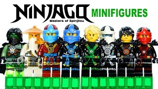 LEGO Ninjago 2015 Deepstone Robes w/ Master Wu KnockOff Minifigures Set 22 Review