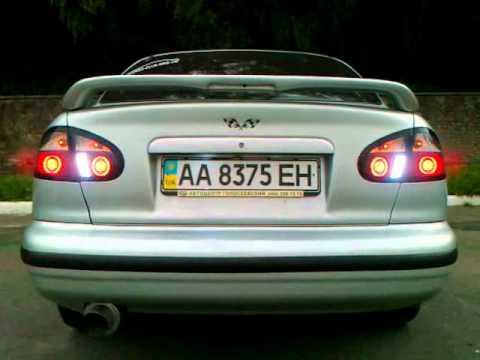 Светодиодные задние фонари на Daewoo Lanos