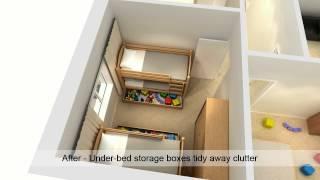 getlinkyoutube.com-Space saving tips for your home