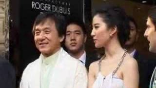 getlinkyoutube.com-Jackie Chan and Crystal Liu interview about Dragon's Heart Charity