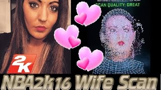 getlinkyoutube.com-NBA 2k16 Wife Scan Challenge! Face Scan for Xbox One.