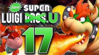 Let's Play New Super Luigi U Part 17: Luigi vs. Big Bowser