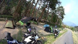 getlinkyoutube.com-【バイク走行】2014GW 奥飛騨温泉郷・富山キャンプツーリング_その1(露天風呂付キャンプ場)