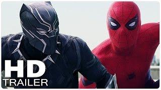 getlinkyoutube.com-CAPTAIN AMERICA 3 CIVIL WAR All Trailer + Clips + Making Of | Marvel Movies 2016