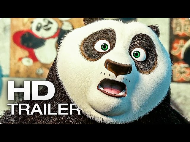 KUNG FU PANDA 3 Trailer German Deutsch (2016)