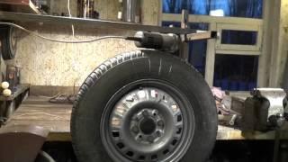 getlinkyoutube.com-Балансировка колес в домашних условиях