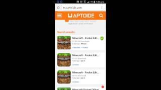 getlinkyoutube.com-How to install mcpe 13.0 free.