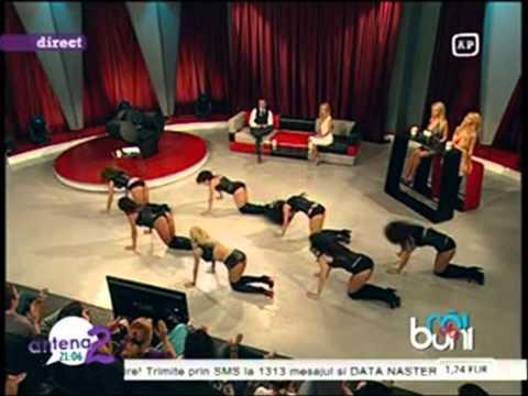 Andreea Balan - Trippin @ Rai da' Buni (Antena 2) - 05.09.2011