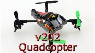 getlinkyoutube.com-WL Toys v202 Quadcopter - How tough is this little machine? iPhone 5 HD video
