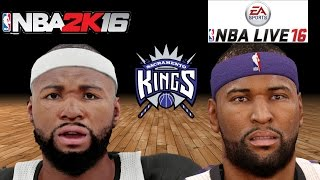 getlinkyoutube.com-NBA 2K16 vs. NBA Live 16 - Sacramento Kings Player Faces
