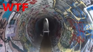 getlinkyoutube.com-DEMON GIRL SPEAKS IN THE HAUNTED TUNNEL (WTF)