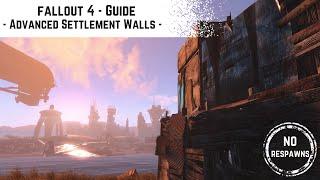 getlinkyoutube.com-Fallout 4 Guide - Advanced Settlement Walls