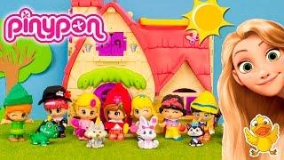 getlinkyoutube.com-PINYPON cuentos 1: Rapunzel, Blancanieves, Alicia y Caperucita * Juguetes de PINYPON en español