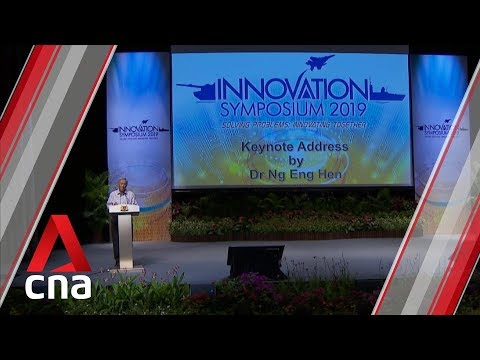 Singapore's Defence Ministry announces New Initiatives to boost Innovation