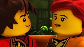 getlinkyoutube.com-All Kai & Skylor Scenes - Ninjago Season 4 Tournament of Elements