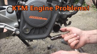 getlinkyoutube.com-KTM Duke Engine Problems Knock Knock