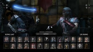 getlinkyoutube.com-Mortal Kombat X: Kung Lao vs Liu Kang Gameplay PT/BR (DUBLADO) PS4