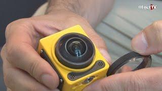 getlinkyoutube.com-Présentation de la Kodak PixPro SP360 : une action-cam qui filme à 360°
