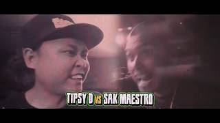 FlipTop - Tipsy D vs Sak Maestro
