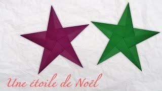 getlinkyoutube.com-Origami ! Une étoile de Noël.