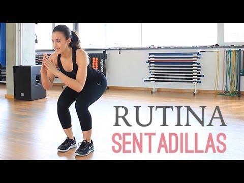 Rutina de ejercicios para tonificar glúteos y piernas | Sentadillas