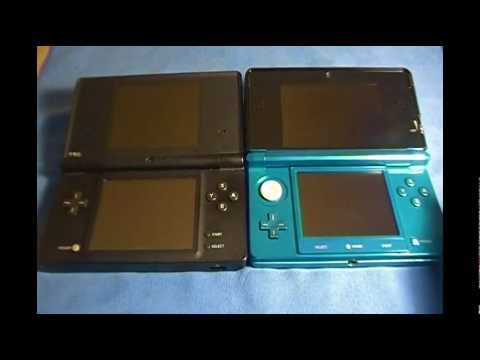 Nintendo 3DS vs Nintendo DSi/Comparison to PSP 3000, 1000