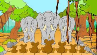 getlinkyoutube.com-Elephant and Mice - Panchatantra Stories - Telugu