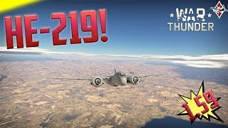 getlinkyoutube.com-War Thunder [1.59!]He 219 Gameplay