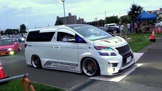 getlinkyoutube.com-♛ カスタムカー軍団様 御解散の様子 Japanese Custom cars
