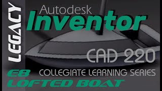 getlinkyoutube.com-E8 INVENTOR 2013 Advanced Modeling Boat