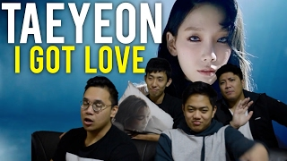 getlinkyoutube.com-TAEYEON | I GOT LOVE MV Reaction #taebaealltheway