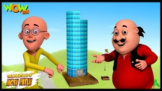 Mobile Tower - Motu Patlu in Hindi WITH ENGLISH, SPANISH & FRENCH SUBTITLES